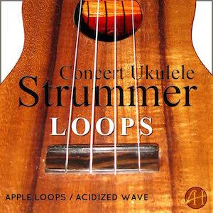 Concert Ukulele Strummer Loops
